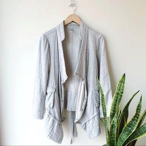 Monoreno Grey Cascading Jacket